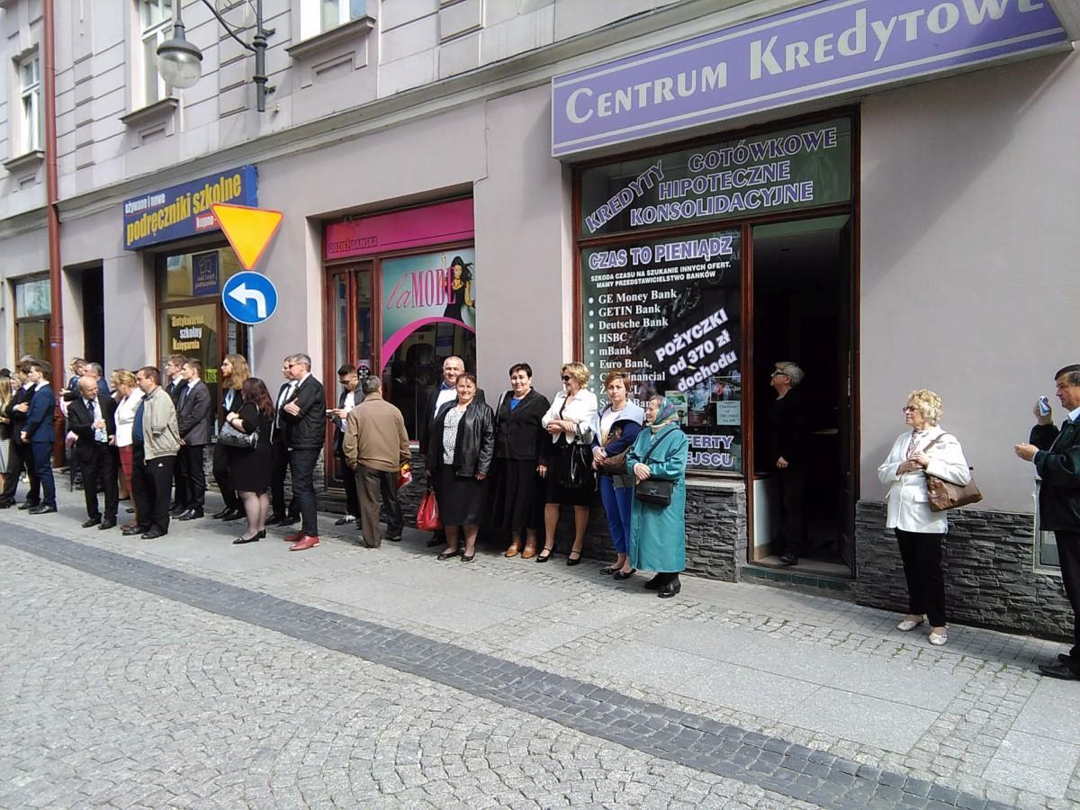 DK rejon Łańcut na Ingresie abp Adama Szala