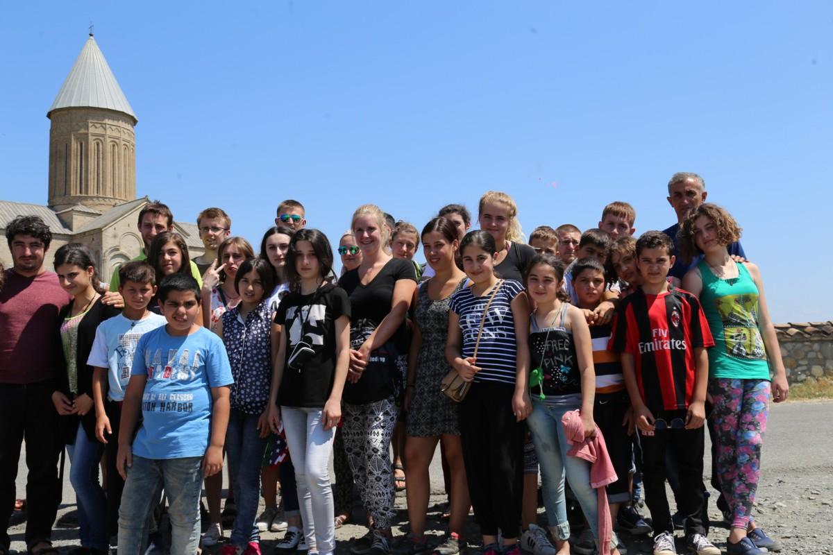 Kolonia letnia dla dzieci z powojennej Abchazji