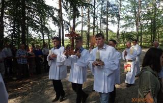 Paschalny Dzień Wspólnoty rejonu Łańcut  – Białobrzegi 28.05.2016r.